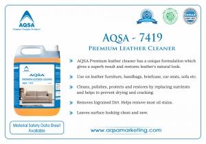 Premium Leather Cleaner (AQSA-7419) India