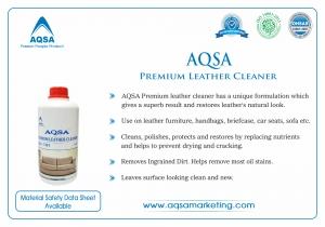 Premium Leather Cleaner 1 Ltr (AQSA-7419) India